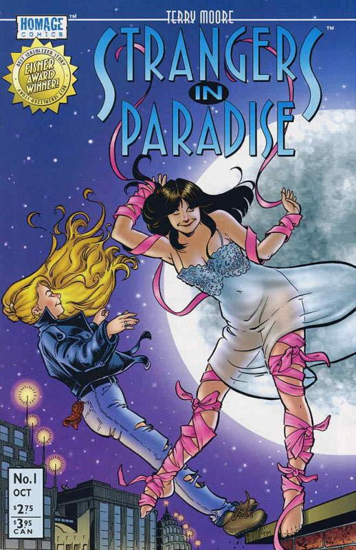 Strangers in Paradise (3rd Series) #1 VF; Image | save on shipping - details ins