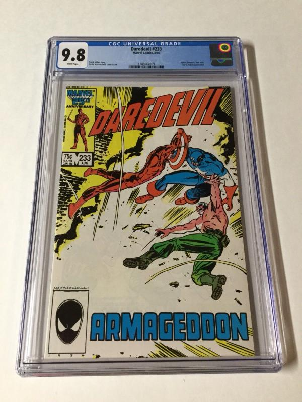 Daredevil 233 Cgc 9.8 White Pages