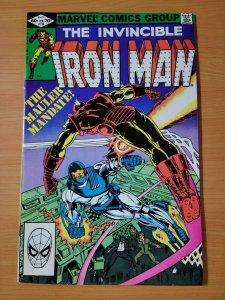 Invincible Iron Man #156 Direct Market ~ NEAR MINT NM ~ 1982 Marvel Comics