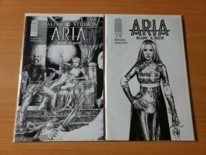 Aria Blanc & Noir 1-2 Complete Set Run! ~ NEAR MINT NM ~ 1999 Image Comics