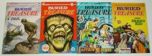 Buried Treasure vol. 2 #1-4 VF/NM complete series  frank frazetta - frankenstein