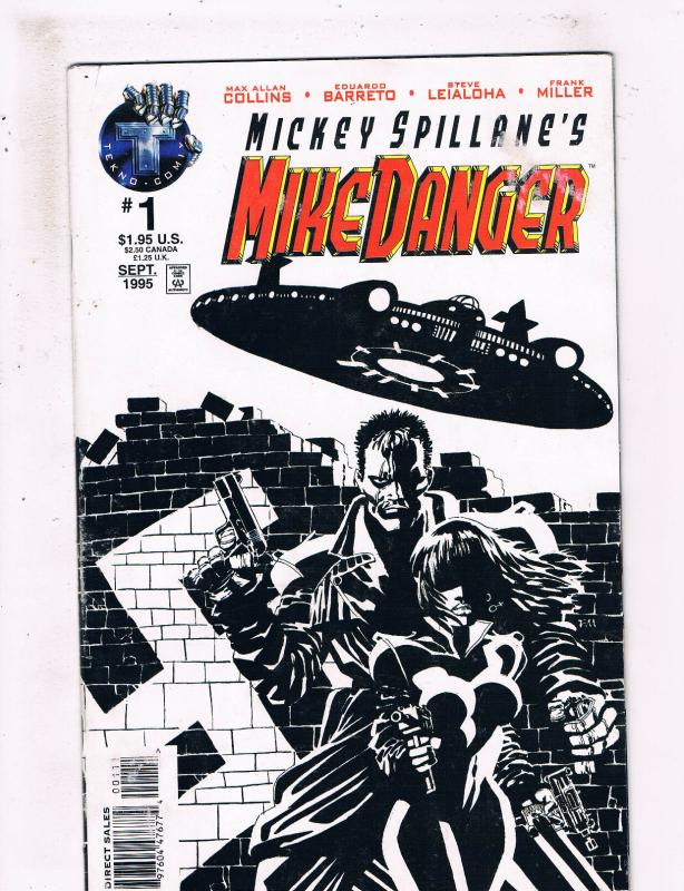 Mike Danger #1 NM Tekno Comix Comic Book Frank MIller Cover DE25