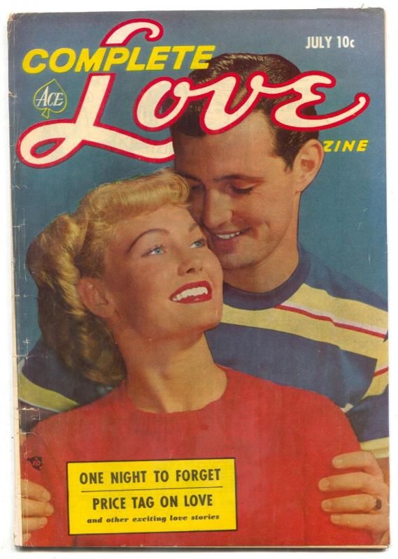 Complete Love Magazine Vol. 29 #3 1953-One Night to Forget-incomplete