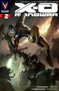 X-O Manowar (3rd Series) #2 FN; Valiant | save on shipping - details inside