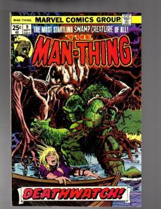 MAN THING (1974) 9 FINE PLUS  Ploog art  Sept. 1974
