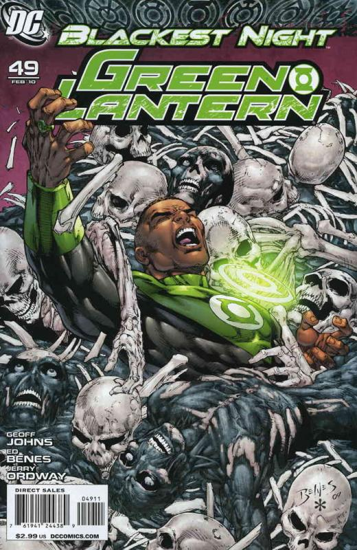 Green Lantern (4th Series) #49 VF/NM DC - save on shipping - details inside