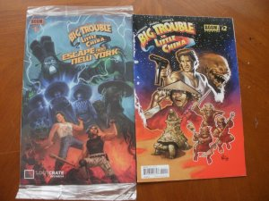 2 BOOM Studios BIG TROUBLE IN LITTLE CHINA Comic: NEW SEALED LOOT CRATE #1 + #2