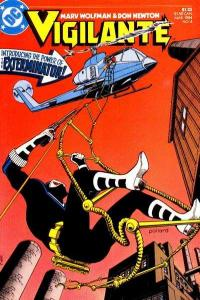 Vigilante (1983 series) #4, NM (Stock photo)