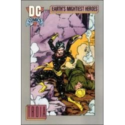 1991 DC Cosmic Cards - TROIA #76