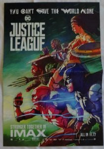 JUSTICE LEAGUE Promo Poster , 11 x 17,  2017, DC, Unused more in our store 098