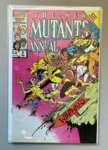 New Mutants Annual #2 Direct 6.0 FN (1986)