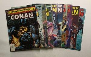 Savage Sword Of Conan 89-227 Magazine Lot 74 Issues Fine 6.0 Marvel
