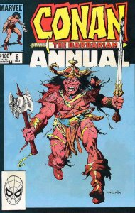 Conan the Barbarian Annual #8 VF; Marvel | save on shipping - details inside