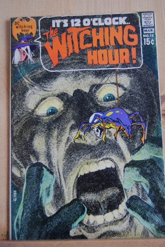 The Witching Hour, #13, Jack Kirby, Stan Lee, High Grade! The greatest cover!