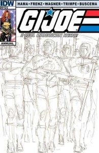 G.I. Joe, A Real American Hero Annual #1B VF/NM; Marvel | save on shipping - det