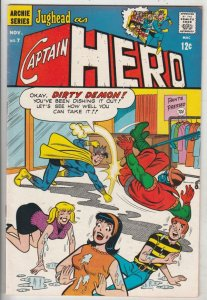 Jughead As Captain Hero #7 (Nov-67) VF/NM High-Grade Captain Hero