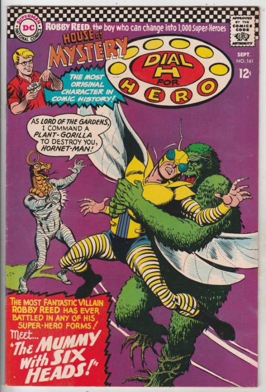 House of Mystery #161 (Sep-66) NM- High-Grade Martian Manhunter, Robby Reed (...