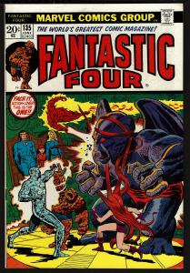 Fantastic Four #135 (Jun 1973, Marvel) 8.5 VF+