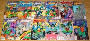 Robin #0 & 1-183 VF/NM complete series + annual 1-7 + variant + one million