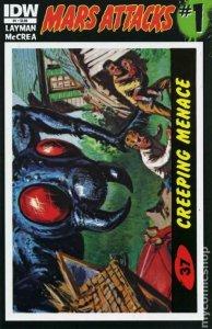 MARS ATTACKS #1, NM, cover 37, Ants, 2012, IDW, Aliens, Ray guns