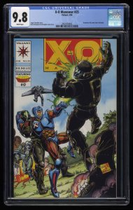 X-O Manowar #25 CGC NM/M 9.8 White Pages