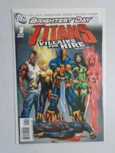 Titans Villains for Hire Special #1A, 8.0/VF (2010)