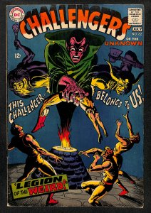 Challengers of the Unknown #62 (1968)