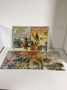 Worlds Finest 122 125 126 128 129 Vg-Fn Very Good-Fine 4.0-6.0