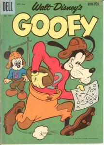 GOOFY F.C.1149 FINE   Nov.-Jan. 1961 COMICS BOOK