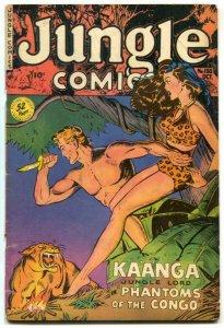 Jungle Comics #130 1950-Kaanga Phantoms of Congo VG-