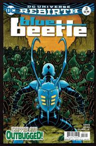Blue Beetle  #3 (Rebirth)  9.4 NM