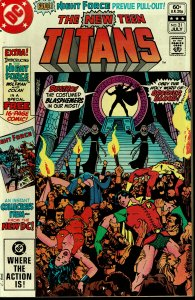 New Teen titans #21 - VF/NM - 1st Brother Blood