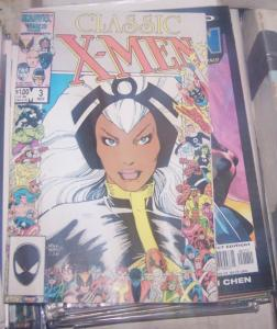 Classic X-Men #3 (Nov 1986, Marvel) REPRINTS X MEN 95+ NEW MATERIAL
