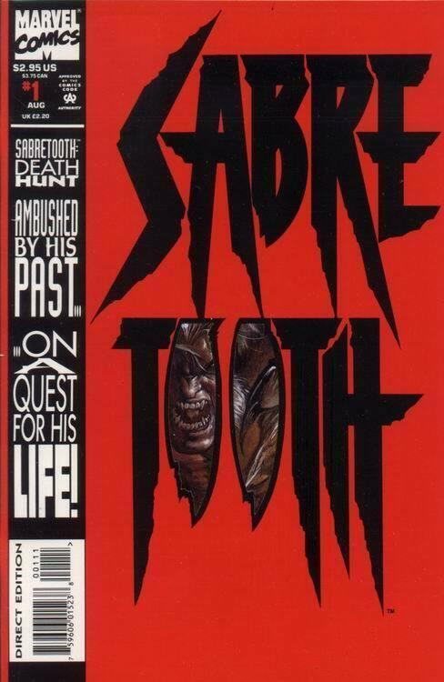 SABRETOOTH (1993 MARVEL) #1 NM- A89820