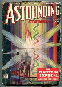 Astounding Stories Pulp April 1935- Einstein Express- reading copy