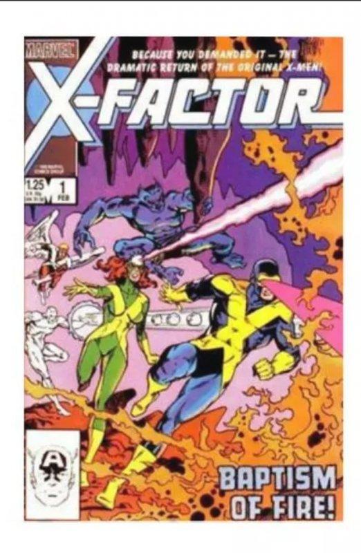 X-Factor #1 (1986) 8.5+