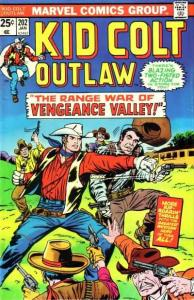 Kid Colt Outlaw #202, VG (Stock photo)