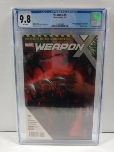 Weapon X #6A Skan Variant CGC 9.8 2017