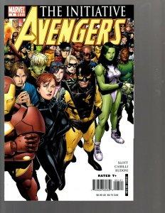 12 Marvel Comics Avengers The Initiative #1 2 3 5 6 7 8 9 10 11 12 13 EK22