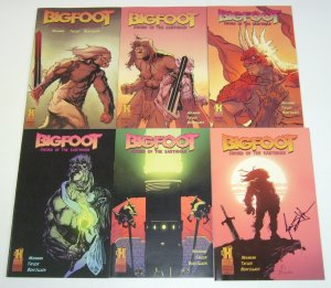 Bigfoot: Sword of the Earthman #1-6 VF/NM complete series - brew house signed