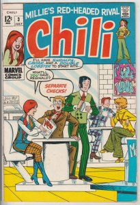 Chili #3 (Jul-69) FN/VF Mid-High-Grade Chili
