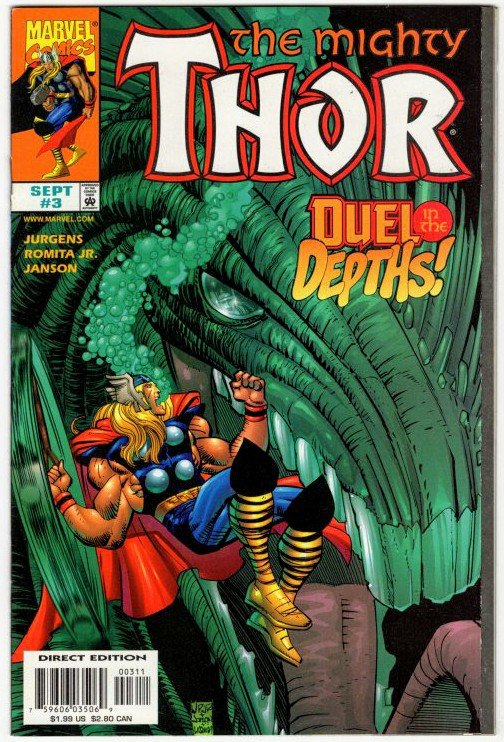 THOR #3 (VF/NM) No Resv! 1¢ Auction! See More!!!