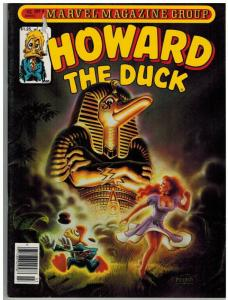 HOWARD THE DUCK (1979-1981 MARVEL MAG) 9 FN March 1981