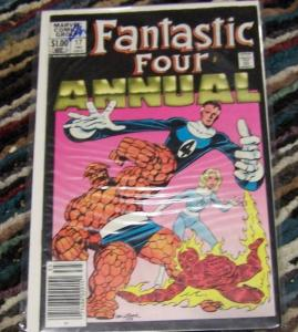 FANTASTIC FOUR annual #17  1983 marvel        john byrne
