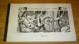 Jungle Jim by Alex Raymond part 2 SC FN+ softcover collection from 1972 rare II
