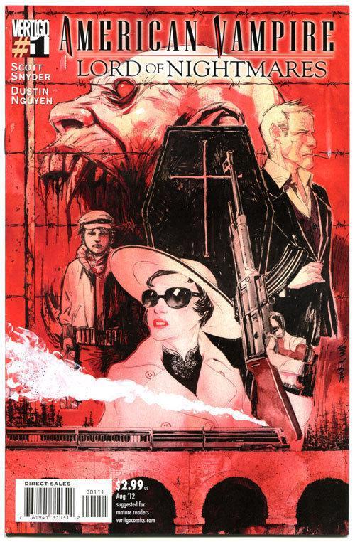 AMERICAN VAMPIRE : Lord of Nightmares #1, VF/NM, Vertigo, 2012, more in store