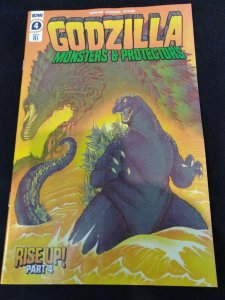 Godzilla Monsters & Protectors #4 Rise Up! 1:10 Retailer Incentive Variant IDW