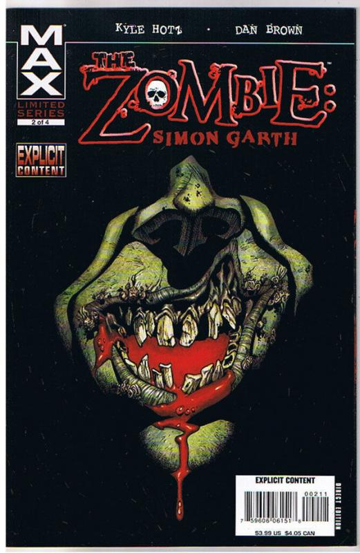 ZOMBIE : Simon Garth #2, NM, Undead, Walking Dead, 2008, more Zombies in store