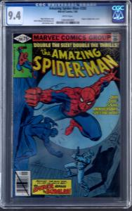 Amazing Spider-Man 200 CGC graded 9.4 Bronze age Marvel Mint death burgler