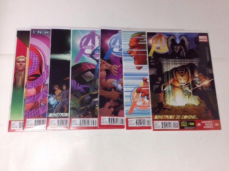 Avengers A.I. 2-7 Near Mint lot Set Run Marvel Now